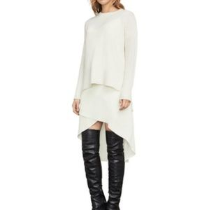💁♀️Brand New High low BCBG dress in Cream color